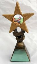 MOTOCROSS ENDURO OR SPEEDWAY STAR TROPHY INCLUDING YOUR ENGRAVING NEW