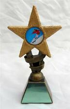 SKIING STAR TROPHY INCLUDING YOUR ENGRAVING Choice of Sizes NEW