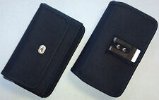 Heavy Duty Rugged Canvas Case Side Belt Clip - See the Compatibility List inside