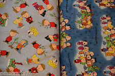 Christmas Tree Caroling Charlie Brown coordinating 100% COTTON FABRIC HALF YARD!