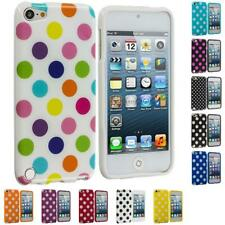 Polka Dot Color TPU Rubber Case Cover Accessory for iPod Touch 5th Gen 5G 5