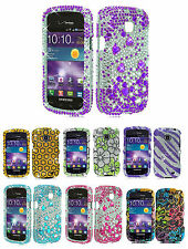 1 Bling Rhinestone Skin Hard Case For Samsung Galaxy Proclaim SCH-S720C Phone