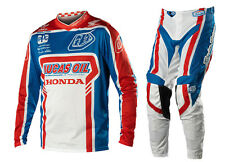 NEW 2014 TROY LEE DESIGNS TLD GP AIR TEAM MX GEAR COMBO BLUE/ RED ALL SIZES