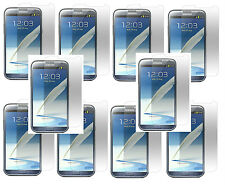 1, 2, 3,5,10 Clear Film Screen Protector For Samsung Galaxy Note II 2 Phone
