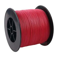 100% PE 4STRANDS DYNEEMA SPECTRA BRAID FISHING LINE 1000M/1093yards RED