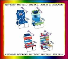 2 Tommy Bahama Backpack Cooler Beach Chairs PICK YOUR COLORS