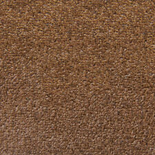 Exton Brown Quality Twist Carpet 4m Wide Lounge Bedroom Stairs Cheap Any Size