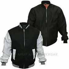 Baseball Style Colledge Classic jacket Vintages Letterman Varsity Round Neck New