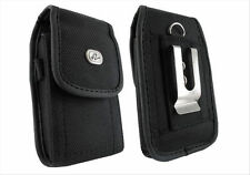 Rugged Heavy Duty Holder Side Belt Clip Case Cover Pouch for Cell Smart Phones