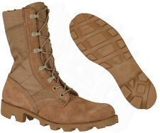 Combat Boot, Desert Tan - NEW, Military Issue - MADE IN USA! Army Hot Weather