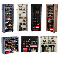 Songmics Shoe Rack Shoes Cabinet Stand Standing Storage Organizer Furniture