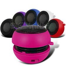 PORTABLE RECHARGEABLE HOT PINK 3.5MM SPEAKER FOR VARIOUS MOBILE PHONES