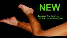 TAMARA Footless ALOE VERA PANTYHOSE work play Sexy hooters tights 20den lingerie
