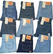 Levis 527 Mens Jeans Slim Fit Boot Cut Many Sizes Many Colors New With Tags