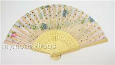 1/6/24 + WHOLESALE LOT Asian Chinese Wedding Shower Favor Party Folding Hand Fan
