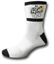2 PAIRS OFFICIAL LE TOUR DE FRANCE 100 YEARS CYCLE SOCKS [72404 x2]