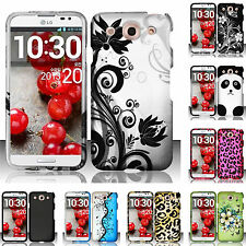 For AT&T LG Optimus G Pro E980 Rubberized HARD Snap Phone Case Cover Accessory