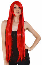 Women's Fashion Long Straight Wig Hair Anime Cosplay Party Wigs