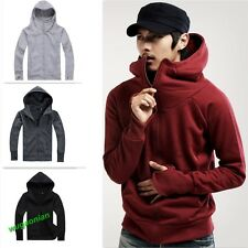 2014 Casual Men's Long Sleeve Zip Up Hoodie Hooded Sweatshirt Jumper Coat Jacket