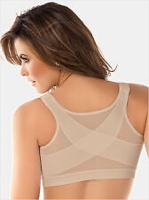 Women Firm Control Wirefree Front Closure Posture Bra Top 34 36 38 40 B C D DD