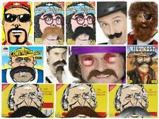 Adhesive Fancy Dress Moustaches & Beards Of all Kinds Tash Costume Accessories