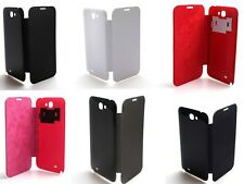 6 Colors Deluxe Protective Leather Phone Cover Sheath Shell With NFC For N7100
