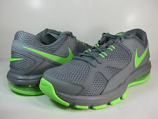NIKE MENS AIR MAX COMPETE TR Cool Grey/Flash Lime -579940 008- ATHLETIC