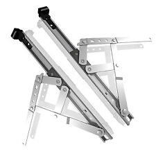 "uPVC Window Hinges Friction Stays Top Hung Side Hung 8"" 10"" 12"" 16"" 20"" 24"" Pair"