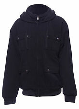 New Mens Black Jacket Insulated Water Repellent Coat Online New Year Gift Deals