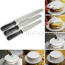 3 Sizes Cake Decorating Stainless Spatula Straight Smoother Spread Filling Tool