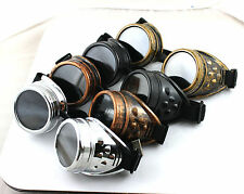 Ezreal LOL Cyber GOGGLES Steampunk Welding Goth Cosplay Vintage GOGGLES Rustic