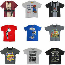 Boys Character T-Shirts | Short Sleeve Tops |  Various Styles | NEW WTIH TAGS