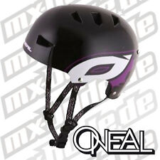 ONEAL Downhill Freeride Casco Dirt Lid EVO NERO-VIOLA MOTOCROSS ENDURO CROSS