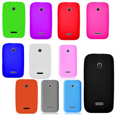 For Huawei Glory H868C Rubber SILICONE Soft Gel Skin Case Phone Cover