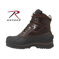 "ROTHCO 8"" Tall Lace Up Extreme Cold Weather Hiking Boots Brown/Black Style 5059"