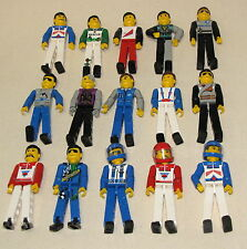 LEGO TECHNIC FIGURES YOU PICK WHICH FIGS YOU WANT RACE CAR POLICE TOWN MORE
