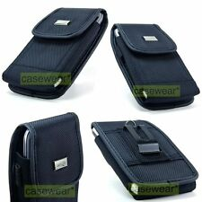 Heavy Duty Vertical Pouch Belt Clip Holster Case for LG Phones Accessory