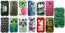 For Motorola Moto X phone Colorful Designs Rubberized Hard Snap On Cover Case