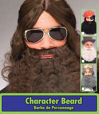 ADULT CURLY BEARD AND MUSTACHE MOUSTACHE PIRATE SANTA DUCK CALL COSTUME BEARD
