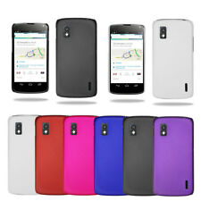Stylish Hybrid Hard Case Cover For LG Google Nexus 4 E960 & Screen Protector