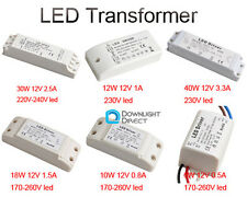 12V Home Light LED Power Supply Driver Electronic Transformer 6/10/12/18/30/40W