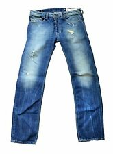 NWT  DIESEL SAFADO 8QL DNA REGULAR SLIM STRAIGHT LEG JEANS MADE IN ITALY W27L32