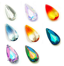 SWAROVSKI CRYSTAL Element 6100 Teardrop Pear Drop Pendant Many Color & Size
