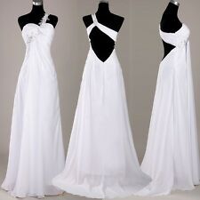 2013 Formal Gown Bridesmaid Wedding Party Prom Ball Chiffon Eve Long Dress LONG
