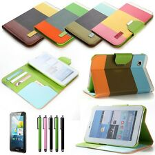 "Leather Case Cover Stand For Samsung Galaxy Tab 2 7.0"" 7"" Tablet P3100/iPad Mini"