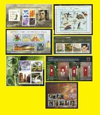 2009 Miniature Sheet Issues of Great Britain each Sold Separately Mint nh