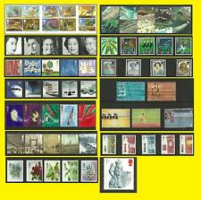 2002 All Commemorative Issues of Great Britain each Sold Separately Mint nh
