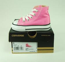 Converse Shoes All Star Infant Girls Chuck Taylor Hi Top Baby Cute Pink Canvas