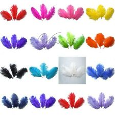 """50PCS Natural Ostrich Feathers approx 15-20cm/6-8"""" Wedding Party Xmas Decoration"""