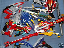POWER RANGERS PLAY TOY WEAPONS RANGER LOTS TO CHOOSE FROM DIFFERENT SERIES